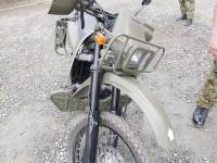自衛隊のKLX250