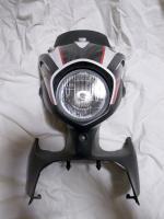 セロー250のヘッドライトカウル